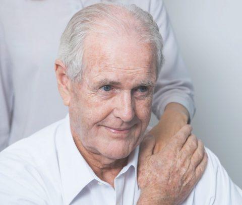 Parkinson-kóros beteg fotója