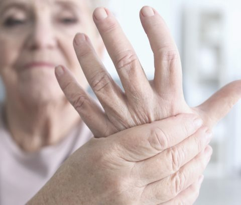 Kézremegés fotója