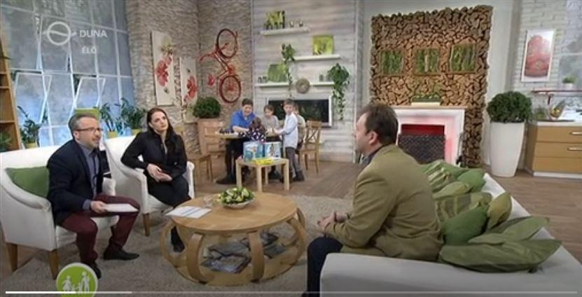 Duna TV családbarát műsorban dr. Valálik István PhD