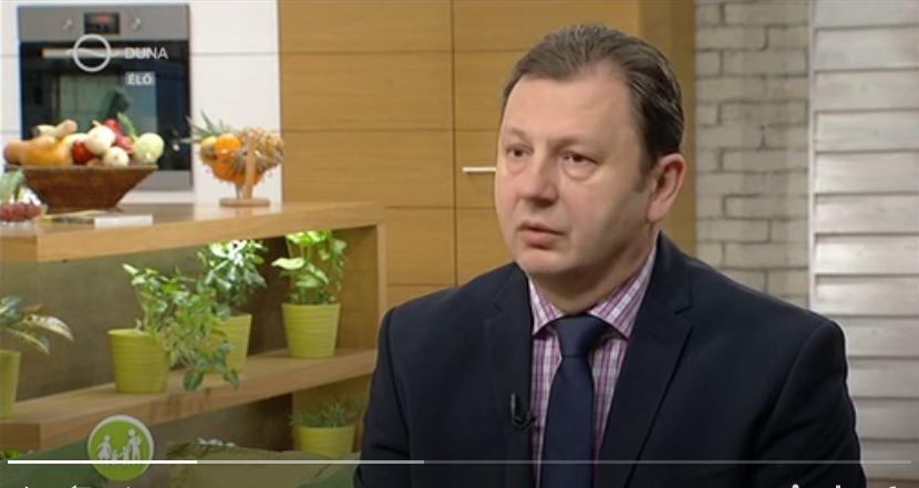 családbarát műsorban dr. Valálik István beszél