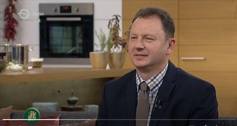 családbarát műsorban dr. Valálik István PhD 2017 októberében