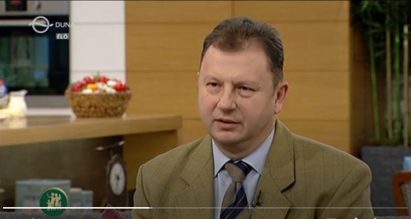 családbarát műsorban dr. Valálik István PhD 2018 januárjában