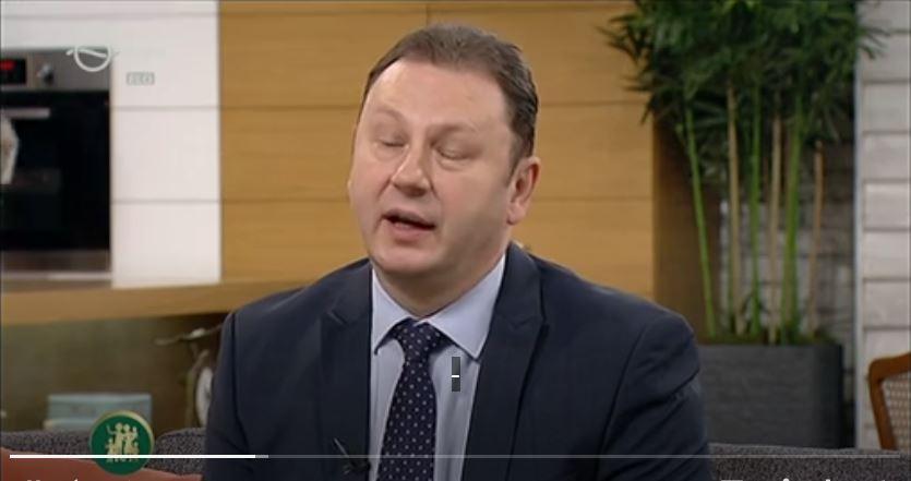 dr. Valálik István PhD családbarát műsorban 2018 februárjában