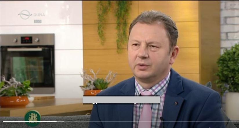 Duna TV családbarát műsorban dr. Valálik István PhD 2018 szeptemberében