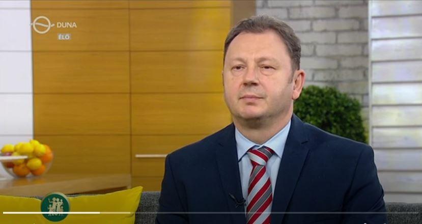 dr. Valálik István a Duna TV-ben