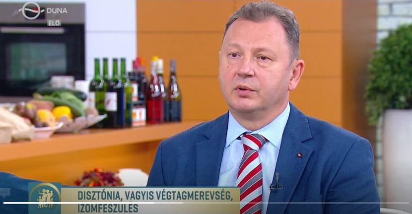 Család-Barát Duna TV dr Valálik István a disztóniáról 2020 október 7.-én